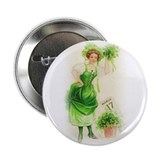 "St, Paddy's Day Girl 2.25"" Button"