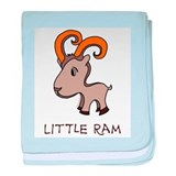 Little Ram baby blanket
