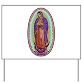 2 Lady of Guadalupe Yard Sign