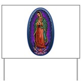 5 Lady of Guadalupe Yard Sign