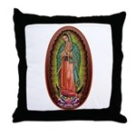 6 Lady of Guadalupe Throw Pillow