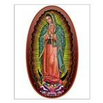 6 Lady of Guadalupe Small Poster