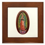 6 Lady of Guadalupe Framed Tile