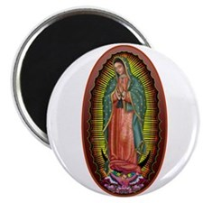 "6 Lady of Guadalupe 2.25"" Magnet (100 pack)"