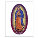 8 Lady of Guadalupe Small Poster