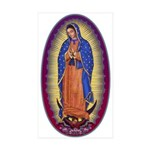 8 Lady of Guadalupe Sticker (Rectangle 50 pk)