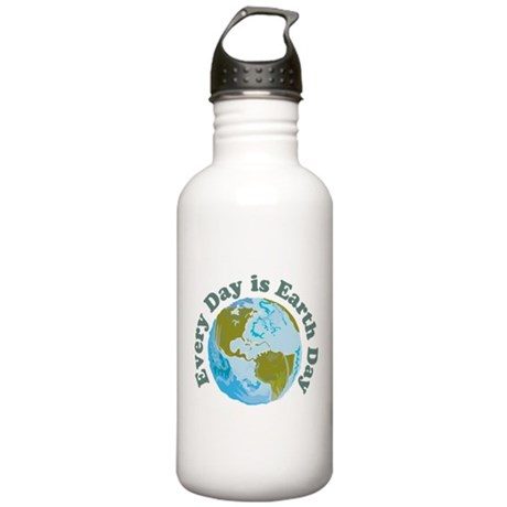 Earth Day Every Day Stainless Water Bottle 1.0L