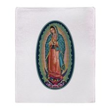 11 Lady of Guadalupe Throw Blanket