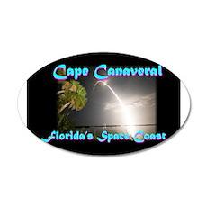 Florida's Space Coast 22x14 Oval Wall Peel