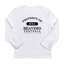 Property of Beavers Long Sleeve Infant T-Shirt