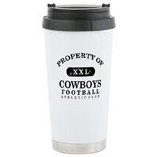 Property of Cowboys Ceramic Travel Mug