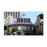 Reno Biggest Little City 22x14 Wall Peel