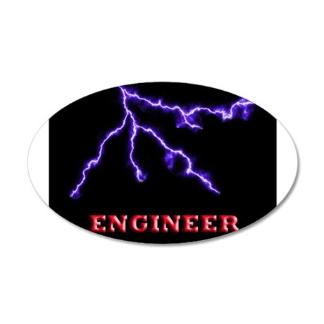 Electrical Engineer 38.5 x 24.5 Oval Wall Peel