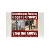 Chaining IS Cruelty Rectangle Magnet (10 pack)