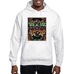 Psychedelic Stars Fractal Hooded Sweatshirt