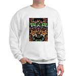 Psychedelic Stars Fractal Sweatshirt