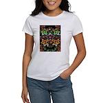 Psychedelic Stars Fractal Women's T-Shirt