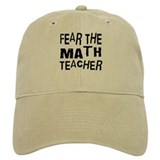 Funny Math Teacher Baseball Cap