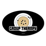 Group Therapy - Guns Sticker (Oval 50 pk)