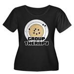 Group Therapy - Guns Women's Plus Size Scoop Neck
