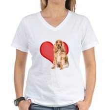 Cocker Spaniel Heart Shirt