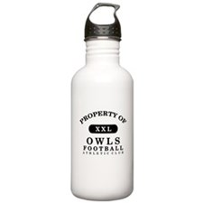 Property of Owls Water Bottle