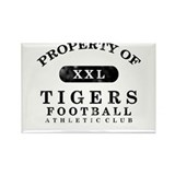 Property of Tigers Rectangle Magnet