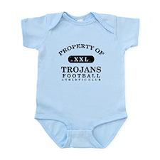 Property of Trojans Infant Bodysuit