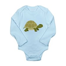 Myrtle the Turtle Long Sleeve Infant Bodysuit
