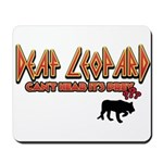 Deaf Leopard Mousepad
