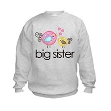 Whimsy Birds Big Sister Jumper Sweater