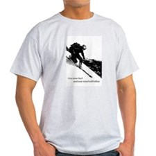 Cute Telemark skiing T-Shirt