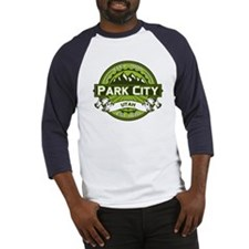 Park City Green Baseball Jersey