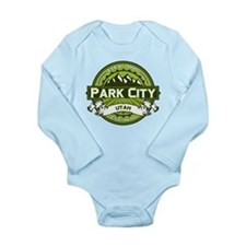 Park City Green Long Sleeve Infant Bodysuit