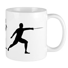 The Evolution Of Fencing Mug