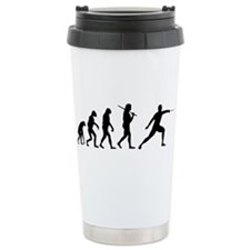 The Evolution Of Fencing Ceramic Travel Mug