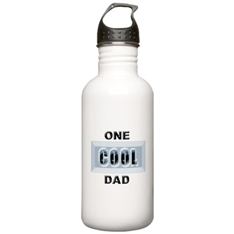 """One Cool Dad"" Stainless Water Bottle 1.0L"