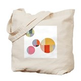 Beach Tote Bag - Abstract Color Fields