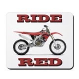 Ride Red Mousepad