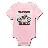 Ride Red Infant Bodysuit