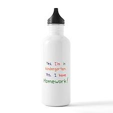 Kindergarten Sports Water Bottle