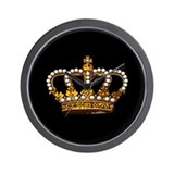 Royal Wedding Crown Wall Clock