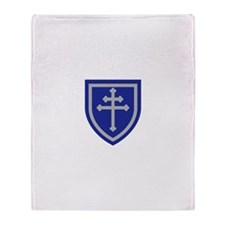 Cross of Lorraine Throw Blanket
