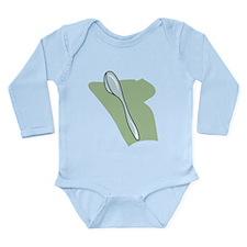 Funny Spoon Long Sleeve Infant Bodysuit