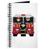 Firefighters and Fire Engine Journal