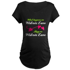 Wisteria Lane Maternity Dark T-Shirt