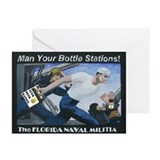 """Bottle Stations!"" Greeting Cards (Pk of"