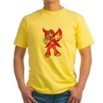 Fire Fairy Yellow T-Shirt