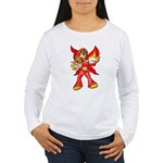 Fire Fairy Women's Long Sleeve T-Shirt