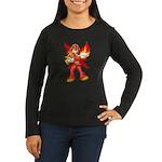 Fire Fairy Women's Long Sleeve Dark T-Shirt